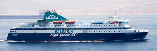 bateau algerie 2018