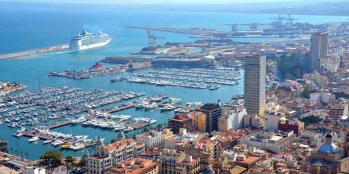 Renseignements gps carte itin raires port d 39 alicante - Port de marseille pour aller en algerie ...